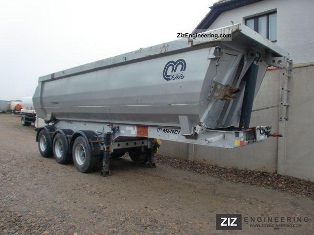 2008 Menci  SA 743R Semi-trailer Tipper photo