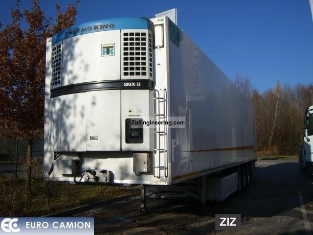 1998 Menci  SL1355S * THERMO KING SMX-II * Semi-trailer Refrigerator body photo