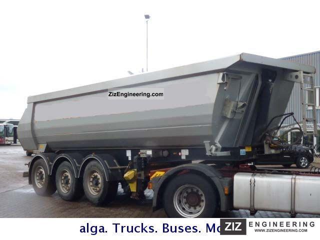 2007 Menci  SA 700R, steel, disc brake 27 m³ Semi-trailer Tipper photo