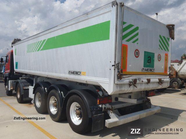 2006 Menci  Alukipper rims export 19.900Euro Semi-trailer Tipper photo
