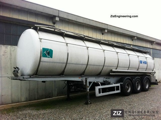 1996 Menci  NUOVA SOSMA - CIST. ALIMENTARE 36 000 LT, POMPA Semi-trailer Food tank photo