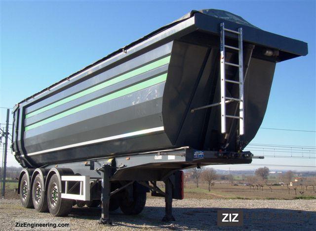 2010 Menci  Cargo Trailers Colibri Dux Semi-trailer Tipper photo