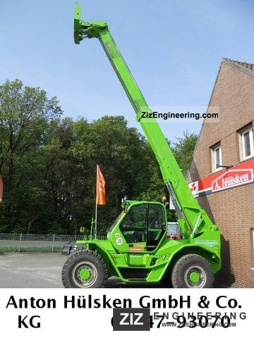 2005 Merlo  P 101.10 HM Forklift truck Telescopic photo