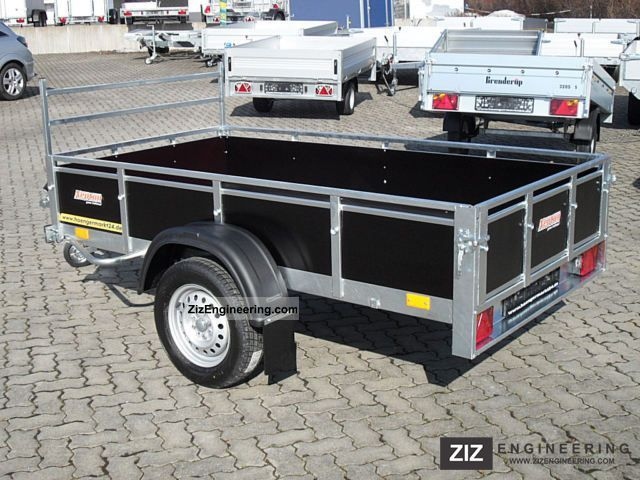 neptun trailwood 253 gn115 multiplex tilt trailer 2011. Black Bedroom Furniture Sets. Home Design Ideas