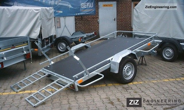 neptun multi series 2011 platform trailer photo and specs. Black Bedroom Furniture Sets. Home Design Ideas