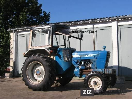 Ford 4600 Tractor Information : New holland ford  agricultural farmyard tractor