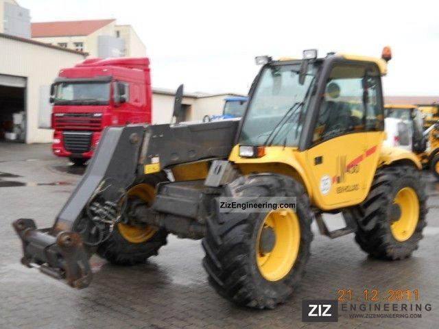 New Holland Lm 430 Telehandler 2003 Wheeled Loader