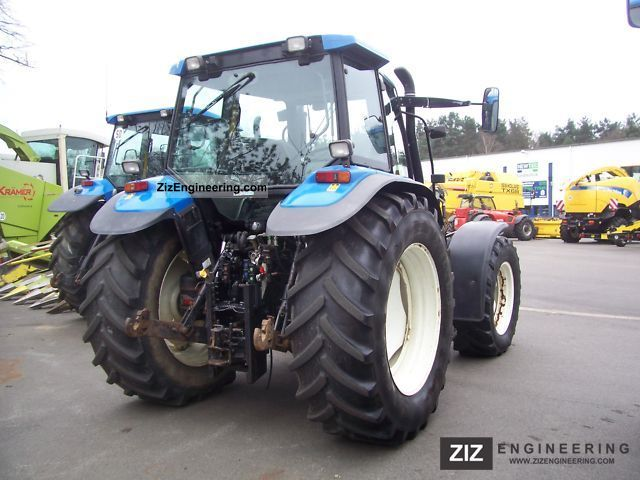 New Holland TS 115 Turbo 2003 Agricultural Tractor Photo and Specs