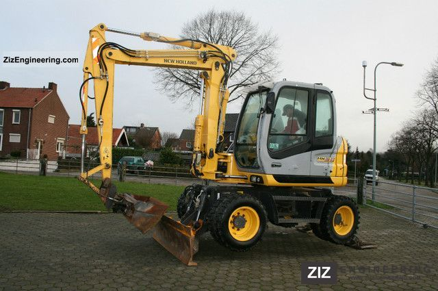 2007 New Holland  MH 2.6 Construction machine Mobile digger photo