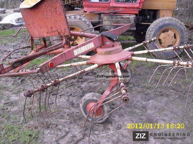 1980 Niemeyer  n 28 Agricultural vehicle Harvesting machine photo