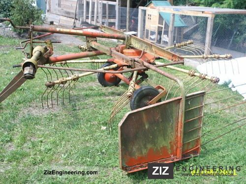 2011 Niemeyer  Rakes 2.8 Agricultural vehicle Harvesting machine photo