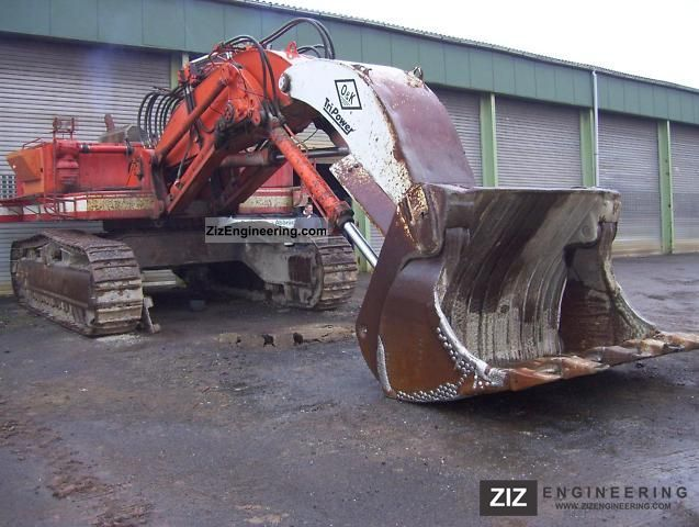1989 O & K  C RH 30 excavator shovel Construction machine Caterpillar digger photo
