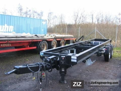 2011 Obermaier  0S2 - 105 L L Trailer Chassis photo