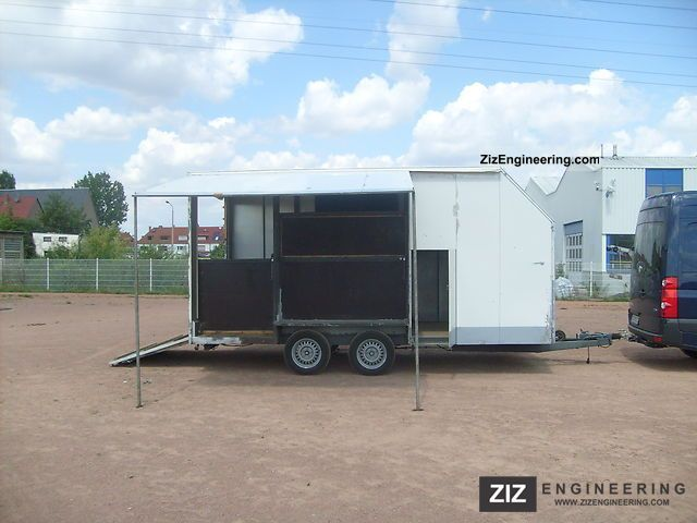 1990 Orthaus  Horse trailer for two horses and a carriage Trailer Cattle truck photo