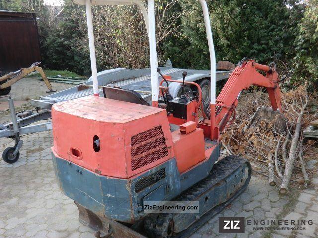 pel job tb 650s mini excavator 1985 mini kompact digger construction equipment photo and specs. Black Bedroom Furniture Sets. Home Design Ideas