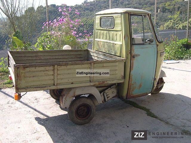 piaggio ape 500 modello ad2t da motors restauro perfetto 1968 other vans trucks up to 7 5t photo. Black Bedroom Furniture Sets. Home Design Ideas