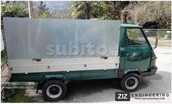 piaggio ape poker 1995 other vans/trucks up to 7,5t photo and specs