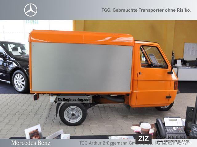 Piaggio Ape 50 Panel Van 2009 Box Truck Photo And Specs