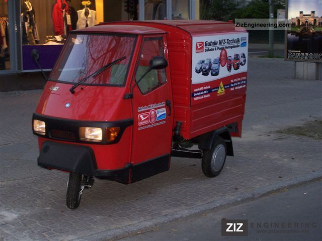 piaggio ape 50 box 2011 other vans trucks up to 7 5t photo and specs. Black Bedroom Furniture Sets. Home Design Ideas