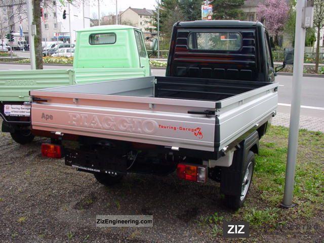 piaggio ape tm 703 v 2011 stake body truck photo and specs. Black Bedroom Furniture Sets. Home Design Ideas
