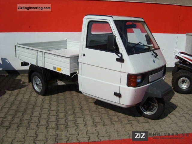 piaggio ape tm diesel trucks 2009 tipper truck photo and specs. Black Bedroom Furniture Sets. Home Design Ideas