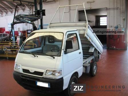 2003 Piaggio  Porter 1.3 16v Cassone RIBALTABILE Van or truck up to 7.5t Dumper truck photo
