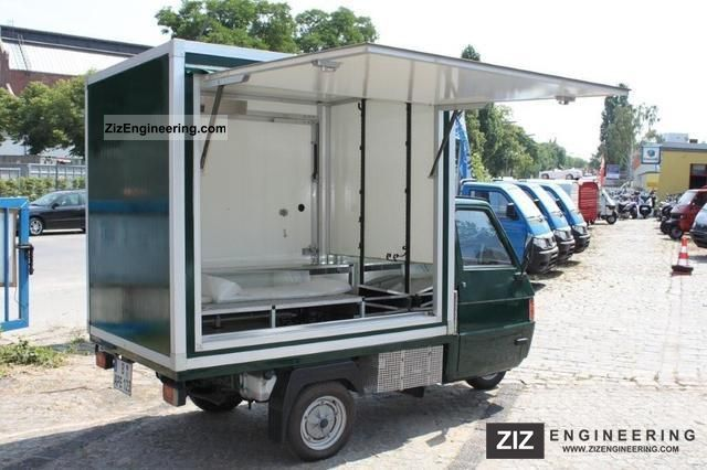 2003 Piaggio  APE sales counter cold INSTANT FINANCING HOTLI Van or truck up to 7.5t Traffic construction photo