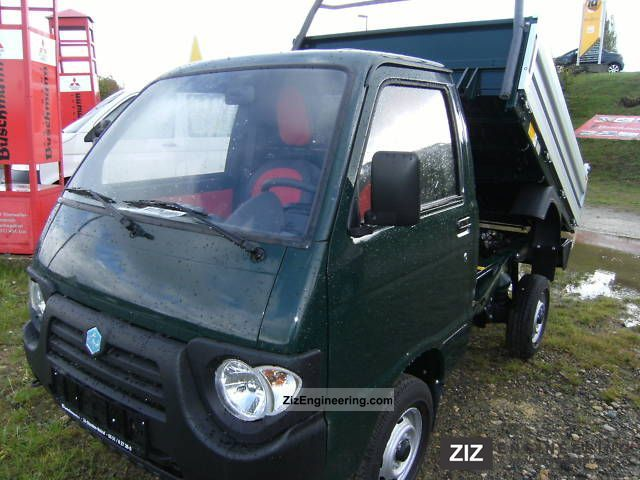 2011 Piaggio  Quargo Diesel Trucks Van or truck up to 7.5t Tipper photo