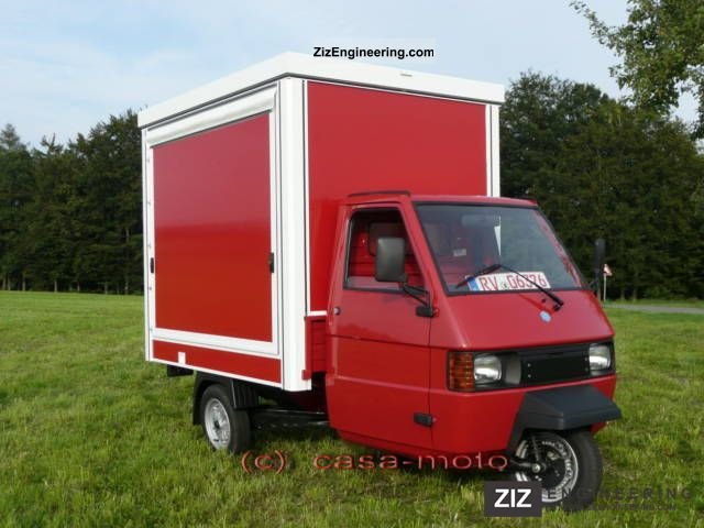2011 Piaggio  Ape TM703 coffee sales up Hotdogstand Van or truck up to 7.5t Traffic construction photo