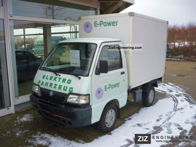 piaggio porter electrical box 2008 box truck photo and specs