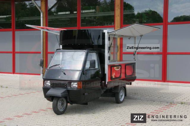 piaggio ape tm espresso mobile cafe bar 2009 traffic. Black Bedroom Furniture Sets. Home Design Ideas