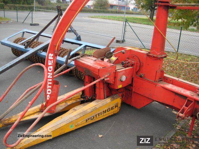 2011 Pottinger  Pöttinger Maishächsler Max IIS Agricultural vehicle Harvesting machine photo