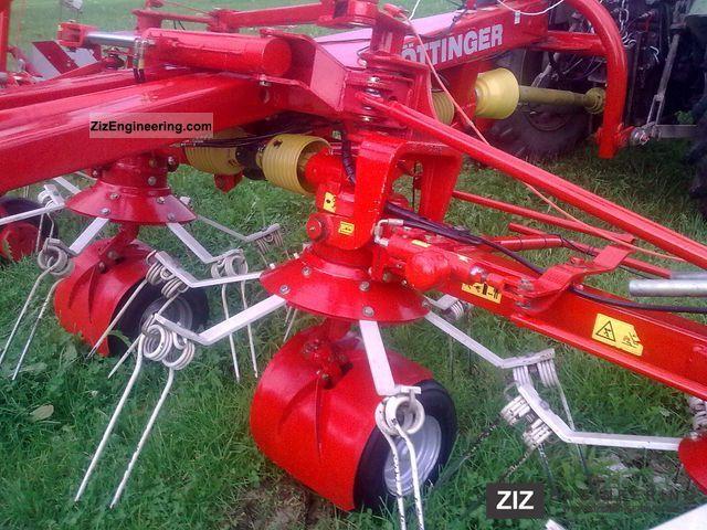 2003 Pottinger  Pöttinger hit 90 AZ Agricultural vehicle Haymaking equipment photo