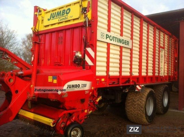2008 Pottinger  Pöttinger car Jumbo 7200 D Np = € 108,000 Agricultural vehicle Harvesting machine photo