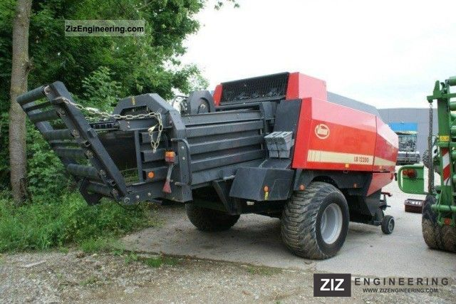 2006 PZ-Vicon  Large square baler LB 12 200 Agricultural vehicle Other agricultural vehicles photo