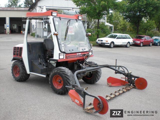 2011 Reformwerke Wels  Rapid MT 200 with mower Aebi Metrac Agricultural vehicle Tractor photo