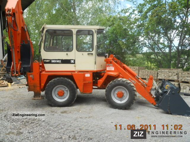 Schaeff Skb 902 1992 Wheeled Loader Construction Equipment Photo And Specs
