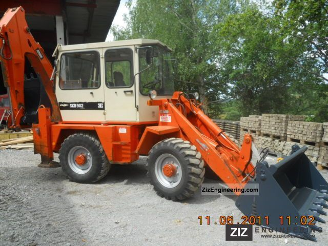 Schaeff Skb 902 1992 Wheeled Loader Construction Equipment