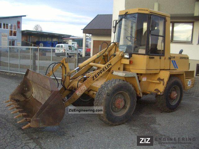1993 Schaeff  SKL 831 Construction machine Wheeled loader photo