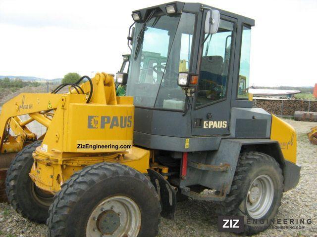 2002 Schaeff  Paus RL 652 SL Construction machine Wheeled loader photo
