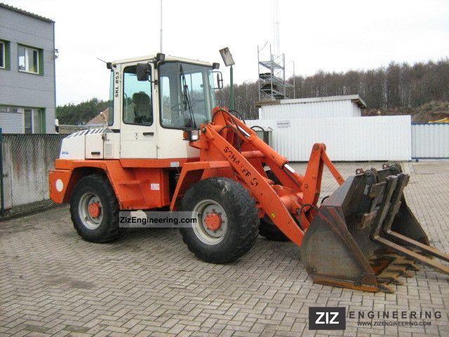 1998 Schaeff  Terex SKL853 Construction machine Wheeled loader photo