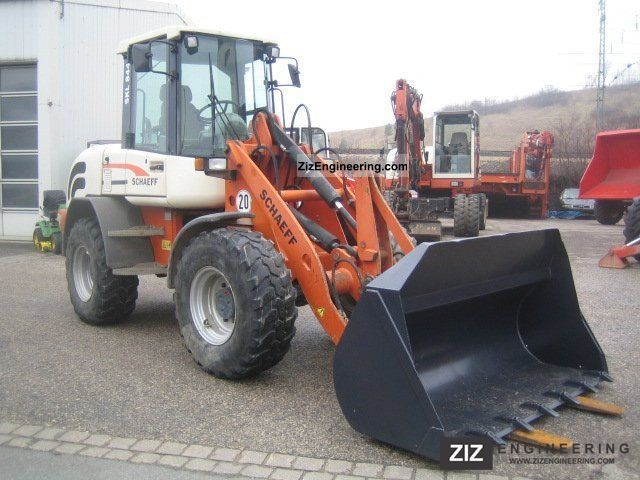 2003 Schaeff  SKL 844 Construction machine Wheeled loader photo