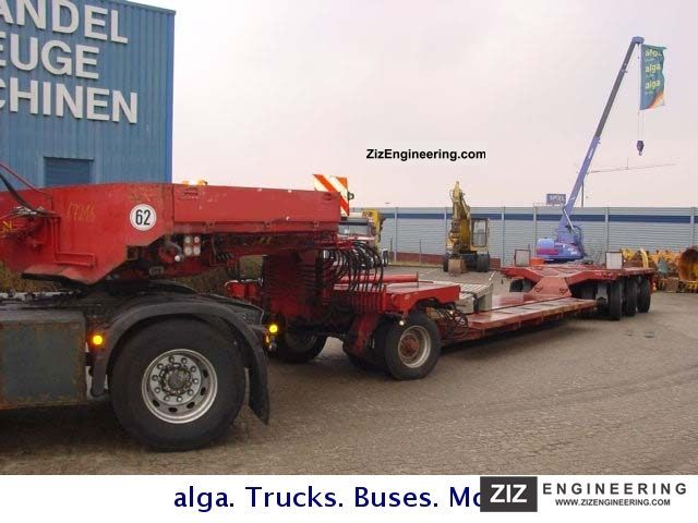 1990 Scheuerle  STG KV503 1AFP 80 t. Semi-trailer Low loader photo