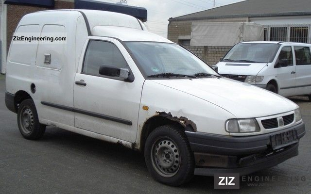 Seat INCA - 1.4 MPI - ZUL truck. - POWER - GREEN poster of 2002 Box-type delivery van Photo and ...