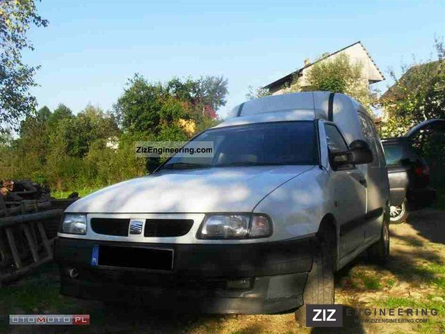 1999 Seat  Inca Van or truck up to 7.5t Other vans/trucks up to 7,5t photo