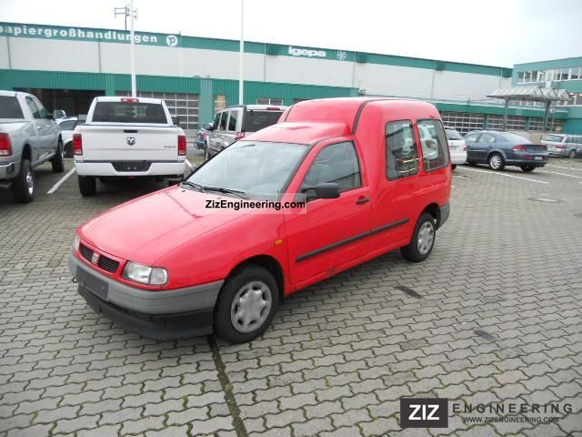 2003 Seat  Inca Kombi 1.4 16V with air Van or truck up to 7.5t Other vans/trucks up to 7,5t photo