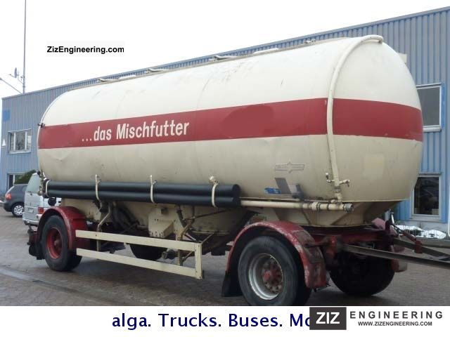 1987 Spitzer  30 m³ chuck, 4 chambers Trailer Silo photo
