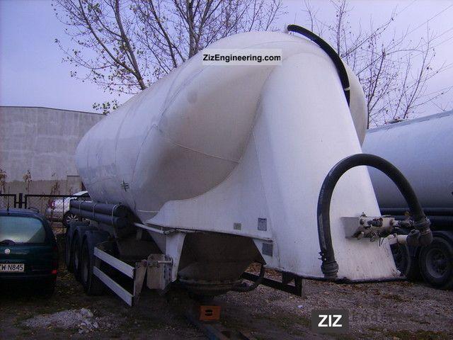 1998 Spitzer  SF2434/2P Semi-trailer Silo photo
