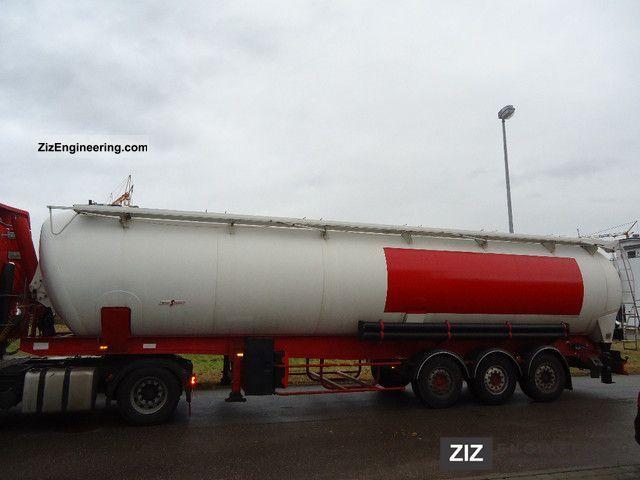 2001 Spitzer  Tipping silo 2765 Semi-trailer Silo photo