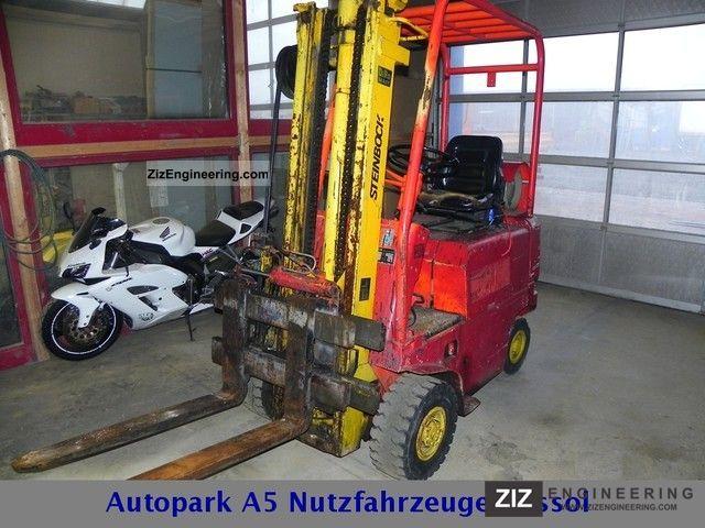 1976 Steinbock  TFG2DA/350 LPG capacity 2000Kg Forklift truck Front-mounted forklift truck photo